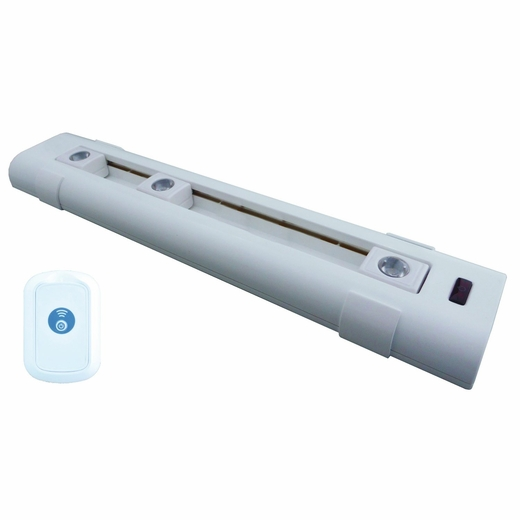 LED Battery Operated Under Cabinet Light With Sliding Heads And Remote Contro