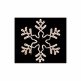 LED Deluxe Snowflake Rope Light Motif