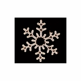 LED Elegant Snowflake Rope Light Motif