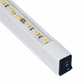 LED Line Voltage Linear Light Fixtures with Hi/Lo/Off Switch