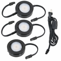 LED MVP Line Voltage 3-Puck Light Kit
