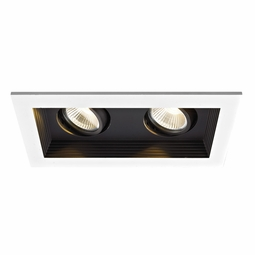 LED Non-IC 2-Light Miniature Multiple Recessed Spotlight