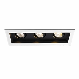 LED Non-IC 3-Light Miniature Multiple Recessed Spotlight
