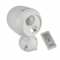 Wireless LED Battery Operated Motion Sensor Spotlight with Remote Control