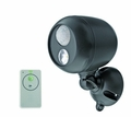 LED Remote Controlled Spotlight with Motion Sensor and Auto Shut-Off