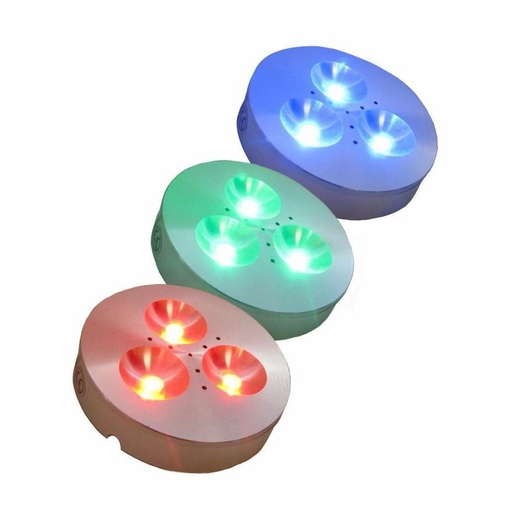 Led Rgb Color Changing Low Voltage Puck Light Kits