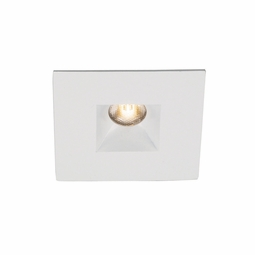 LEDme IC Miniature Recessed Light with Open Square Reflector Trim