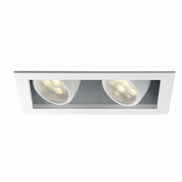 LEDme New Construction IC 2-Light Multiple Recessed Spotlight Kit