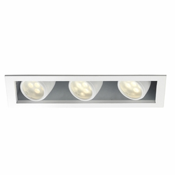 LEDme New Construction IC 3-Light Multiple Recessed Spotlight Kit