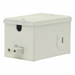 Metal Hardwire Box for 2-Wire Microfluorescent Lights