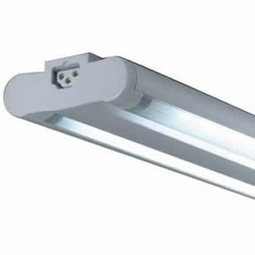 Microfluorescent Twin Adjustable T5 Grounded Light Fixtures
