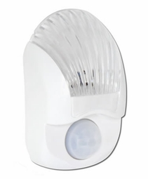 Motion Sensor LED Night Light with Dusk-to-Dawn Photocell