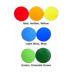 MR11 Colored Glass Light Filters