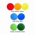 MR16 Colored Glass Light Filters