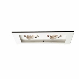 MR16 Low Voltage New Construction Non-IC 2-Light Multiple Recessed Spotlight Kit