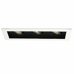 MR16 Low Voltage New Construction Non-IC 3-Light Multiple Recessed Spotlight Kit