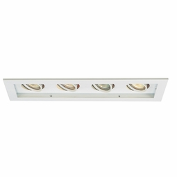MR16 Low Voltage New Construction Non-IC 4-Light Multiple Recessed Spotlight Kit