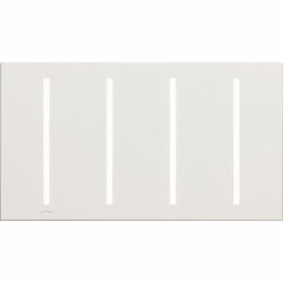 New Architectural Four Gang Wallplates for Lutron Dimmers