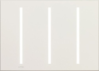New Architectural Three Gang Wallplates for Lutron Dimmers