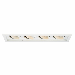 PAR30 New Construction Non-IC 4-Light Multiple Recessed Spotlight Kit