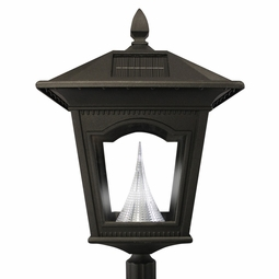 Peking Solar LED Lamp and Post with Anchor