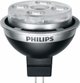 10 Watt - 12 Volt - 40 Watt Replacement - Dimmable LED Light Bulb - MR16 - GU5.3 Base - Narrow Flood - Philips