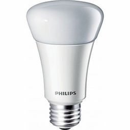 11 Watt - 60 Watt Replacement - Dimmable LED Light Bulb - A19 - Philips EnduraLED