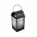 Solar LED Arched Metal Lantern