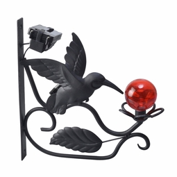 Solar LED Hummingbird Plant Bracket