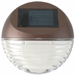Solar LED Mini Deck Light, Round