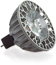 11.5 Watt - 12 Volt - 65 Watt Replacement - Dimmable LED Light Bulb - MR16 - GU5.3 Base - SORAA Vivid 2