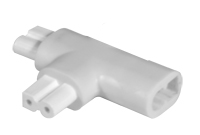 T Power Connector for LED Linkworks Linear Light Fixtures