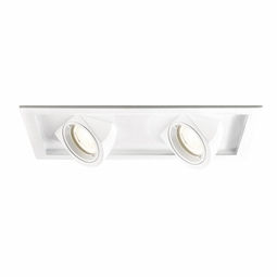 Tesla LED New Construction Non-IC High Output 2-Light Multiple Recessed Spotlight Kit