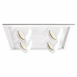Tesla LED New Construction Non-IC High Output 2 x 2 Multiple Recessed Spotlight Kit