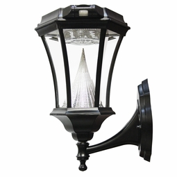 Victorian Solar LED Lamp with Motion Sensor