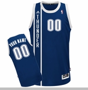Oklahoma City Thunder adidas Custom Player Swingman Alternate Jersey - Navy<br><b><i>Choose a player or Personalize your jersey!</i></b>