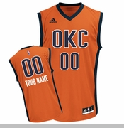 Oklahoma City Thunder adidas Custom Player Replica Alternate Jersey - Sunset <br><b><i>Choose a player or Personalize your jersey!</i></b>