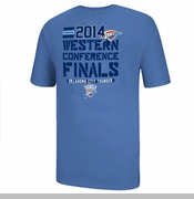 Oklahoma City Thunder 2014 Western Conference Finals Tee - Blue