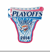 Oklahoma City Thunder 2014 Wincraft Playoff Lapel Pin - Will Ship April 23rd