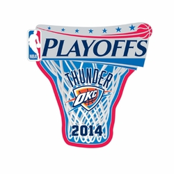 Oklahoma City Thunder 2014 Wincraft Playoff Lapel Pin - Click to enlarge