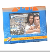 Oklahoma City Thunder 4x6 Picture Frame - Blue