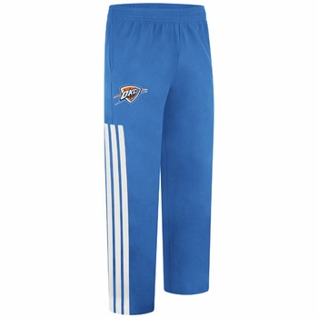 Oklahoma City Thunder adidas On-Court Road Shooting Pant - Blue - Click to enlarge