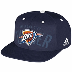 Oklahoma City Thunder adidas 2014 Snapback Draft Cap - Navy - Click to enlarge