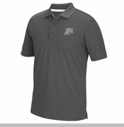 Oklahoma City Thunder adidas Climalite Coaches Polo - Grey