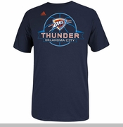 Oklahoma City Thunder adidas Ultimate Banner Tee - Navy