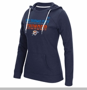 Oklahoma City Thunder adidas Women's On The Horizon Crew - Blue