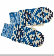 Oklahoma City Thunder adidas Women's Tribal Pattern Mittens