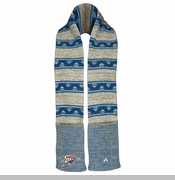 Oklahoma City Thunder adidas Women's Tribal Pattern Scarf