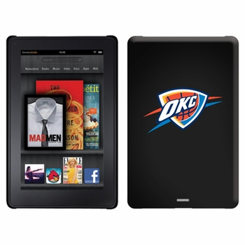 Oklahoma City Thunder Amazon Kindle Fire Thinshield Case with OKC Design - Click to enlarge