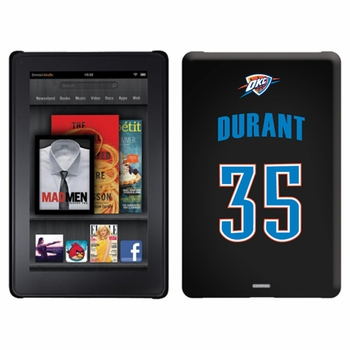 Oklahoma City Thunder Amazon Kindle Fire Thinshield Case with OKC Durant 35 Jersey Design - Click to enlarge